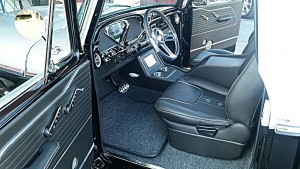 Custom seats and console